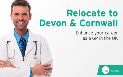 Move to Devon and Cornwall. Enhance your career as a GP in the UK